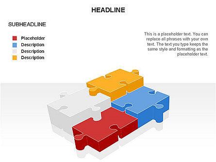 Puzzle Pieces Toolbox, Slide 40, 03268, Puzzle Diagrams — PoweredTemplate.com