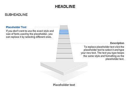 Process Arrow Toolbox, Slide 14, 03270, Process Diagrams — PoweredTemplate.com