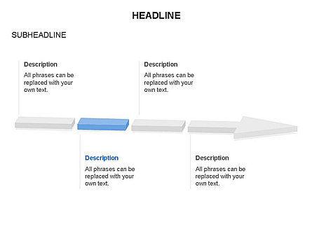 Process Arrow Toolbox, Slide 17, 03270, Process Diagrams — PoweredTemplate.com
