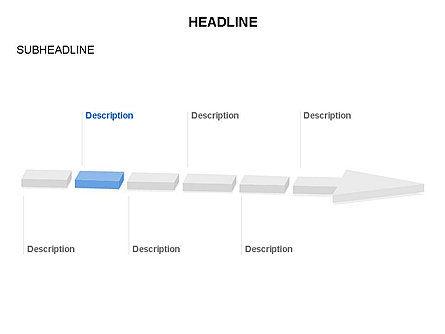 Process Arrow Toolbox, Slide 19, 03270, Process Diagrams — PoweredTemplate.com