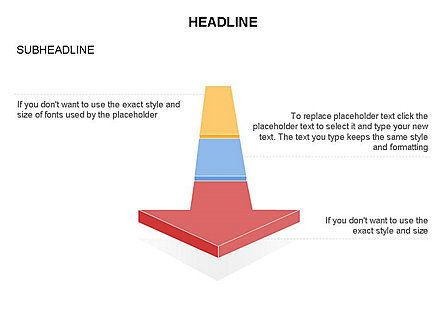 Process Arrow Toolbox, Slide 44, 03270, Process Diagrams — PoweredTemplate.com