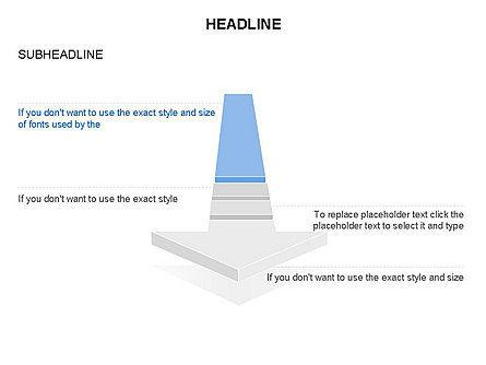 Process Arrow Toolbox, Slide 45, 03270, Process Diagrams — PoweredTemplate.com