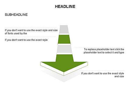 Process Arrow Toolbox, Slide 46, 03270, Process Diagrams — PoweredTemplate.com