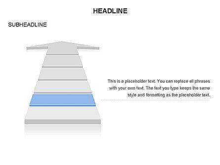 Process Arrow Toolbox, Slide 5, 03270, Process Diagrams — PoweredTemplate.com