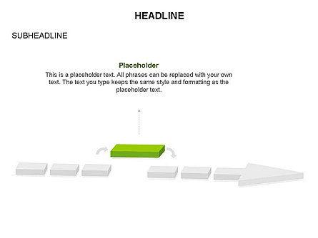 Process Arrow Toolbox, Slide 52, 03270, Process Diagrams — PoweredTemplate.com
