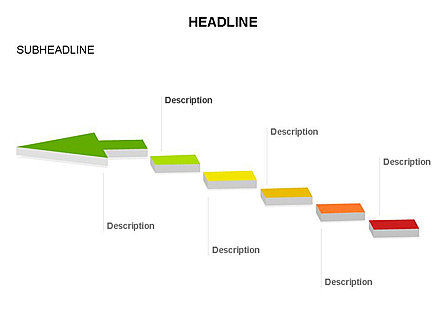 Process Arrow Toolbox, Slide 58, 03270, Process Diagrams — PoweredTemplate.com