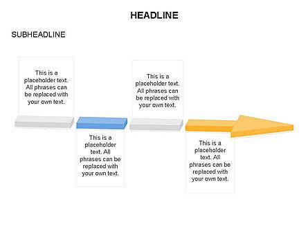 Process Arrow Toolbox, Slide 59, 03270, Process Diagrams — PoweredTemplate.com