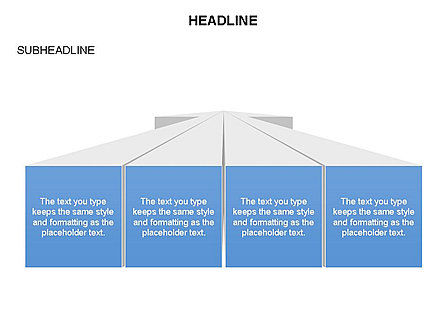 Text Boxes and Perspective Toolbox, Slide 25, 03275, Text Boxes — PoweredTemplate.com