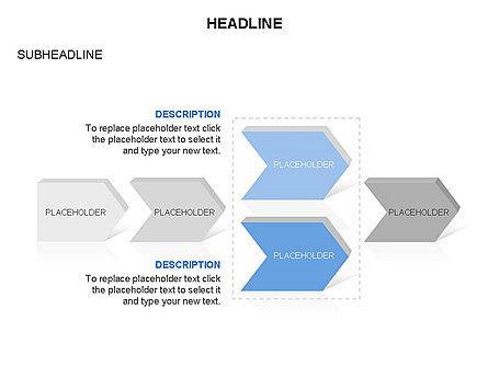 Timeline Process Arrows Toolbox, Slide 11, 03277, Process Diagrams — PoweredTemplate.com