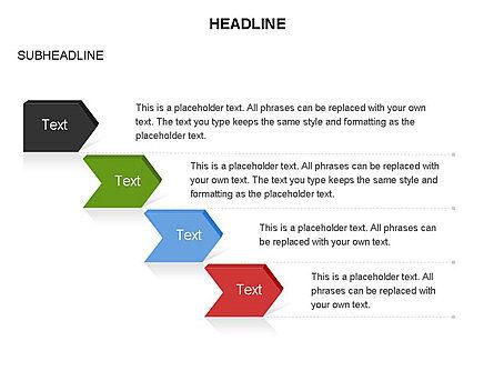 Timeline Process Arrows Toolbox, Slide 13, 03277, Process Diagrams — PoweredTemplate.com
