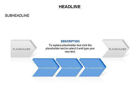 Timeline Process Arrows Toolbox, Slide 14, 03277, Process Diagrams — PoweredTemplate.com