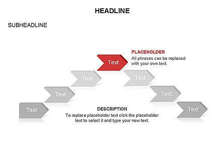 Timeline Process Arrows Toolbox, Slide 15, 03277, Process Diagrams — PoweredTemplate.com