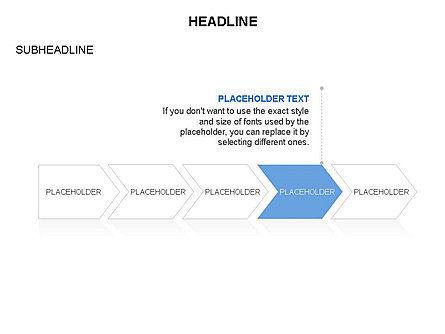 Timeline Process Arrows Toolbox, Slide 17, 03277, Process Diagrams — PoweredTemplate.com