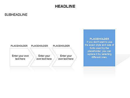 Timeline Process Arrows Toolbox, Slide 18, 03277, Process Diagrams — PoweredTemplate.com