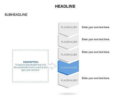 Timeline Process Arrows Toolbox, Slide 19, 03277, Process Diagrams — PoweredTemplate.com
