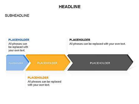 Timeline Process Arrows Toolbox, Slide 25, 03277, Process Diagrams — PoweredTemplate.com