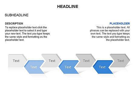 Timeline Process Arrows Toolbox, Slide 27, 03277, Process Diagrams — PoweredTemplate.com