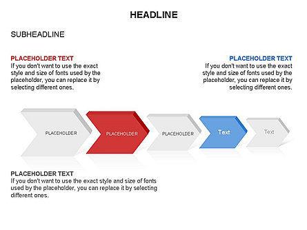 Timeline Process Arrows Toolbox, Slide 29, 03277, Process Diagrams — PoweredTemplate.com
