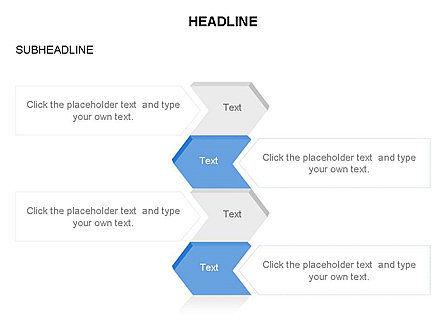 Timeline Process Arrows Toolbox, Slide 31, 03277, Process Diagrams — PoweredTemplate.com