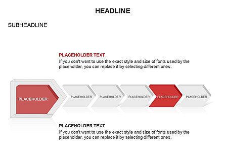 Timeline Process Arrows Toolbox, Slide 32, 03277, Process Diagrams — PoweredTemplate.com