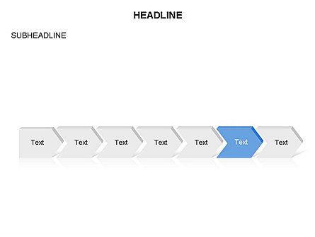 Timeline Process Arrows Toolbox, Slide 7, 03277, Process Diagrams — PoweredTemplate.com
