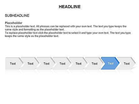 Timeline Process Arrows Toolbox, Slide 8, 03277, Process Diagrams — PoweredTemplate.com