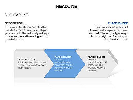 Timeline Process Arrows Toolbox, Slide 9, 03277, Process Diagrams — PoweredTemplate.com