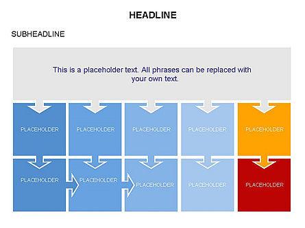 Timeline Arrow Puzzle Toolbox, Slide 12, 03280, Timelines & Calendars — PoweredTemplate.com