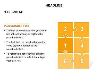 Timeline Arrow Puzzle Toolbox, Slide 25, 03280, Timelines & Calendars — PoweredTemplate.com