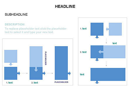 Timeline Arrow Puzzle Toolbox, Slide 26, 03280, Timelines & Calendars — PoweredTemplate.com