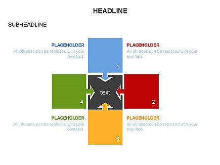 Timeline Arrow Puzzle Toolbox, Slide 27, 03280, Timelines & Calendars — PoweredTemplate.com