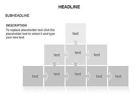 Timeline Arrow Puzzle Toolbox, Slide 32, 03280, Timelines & Calendars — PoweredTemplate.com