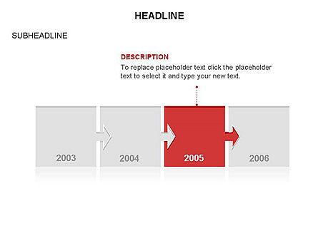 Timeline Arrow Puzzle Toolbox, Slide 34, 03280, Timelines & Calendars — PoweredTemplate.com