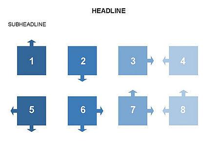Timeline Arrow Puzzle Toolbox, Slide 35, 03280, Timelines & Calendars — PoweredTemplate.com
