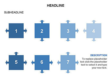 Timeline Arrow Puzzle Toolbox, Slide 36, 03280, Timelines & Calendars — PoweredTemplate.com