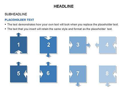 Timeline Arrow Puzzle Toolbox, Slide 39, 03280, Timelines & Calendars — PoweredTemplate.com