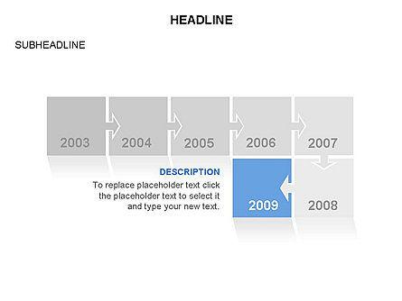 Timeline Arrow Puzzle Toolbox, Slide 5, 03280, Timelines & Calendars — PoweredTemplate.com