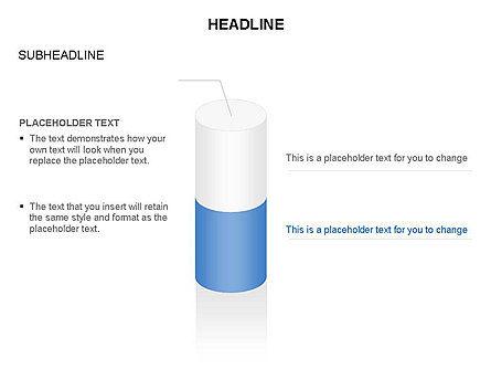 Cylinder Diagram Toolbox, Slide 14, 03282, Shapes — PoweredTemplate.com