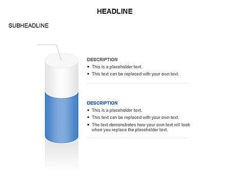Cylinder Diagram Toolbox, Slide 15, 03282, Shapes — PoweredTemplate.com
