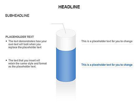Cylinder Diagram Toolbox, Slide 16, 03282, Shapes — PoweredTemplate.com
