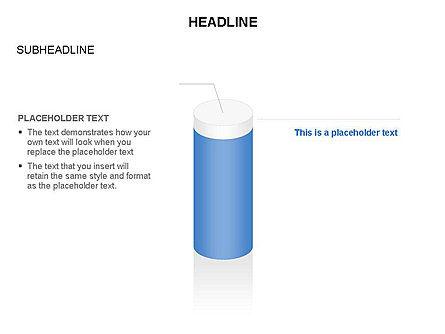 Cylinder Diagram Toolbox, Slide 18, 03282, Shapes — PoweredTemplate.com