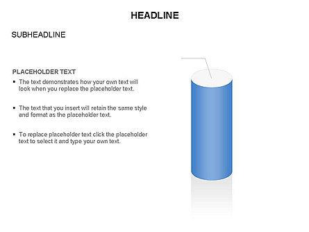 Cylinder Diagram Toolbox, Slide 19, 03282, Shapes — PoweredTemplate.com
