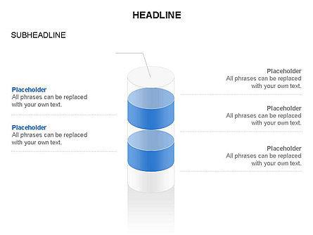 Cylinder Diagram Toolbox, Slide 22, 03282, Shapes — PoweredTemplate.com