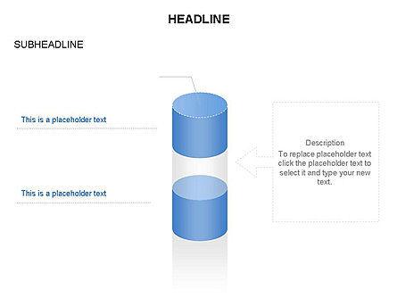 Cylinder Diagram Toolbox, Slide 27, 03282, Shapes — PoweredTemplate.com