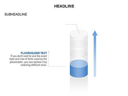 Cylinder Diagram Toolbox, Slide 28, 03282, Shapes — PoweredTemplate.com