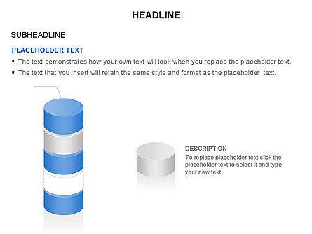 Cylinder Diagram Toolbox, Slide 31, 03282, Shapes — PoweredTemplate.com