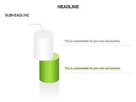 Cylinder Diagram Toolbox, Slide 34, 03282, Shapes — PoweredTemplate.com