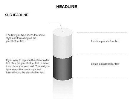 Cylinder Diagram Toolbox, Slide 36, 03282, Shapes — PoweredTemplate.com