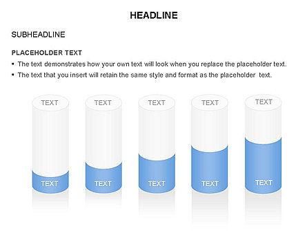 Cylinder Diagram Toolbox, Slide 38, 03282, Shapes — PoweredTemplate.com