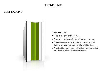 Books Toolbox, Slide 11, 03283, Shapes — PoweredTemplate.com
